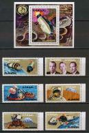 Ajman - 2693b/ N° 755/760 A + Bloc 248 Espace (space) Space Capsules ** MNH - Space