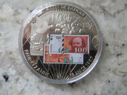 Piece De Monnaie Commémorative: En Mémoire D' Une Monnaie France Billet De 100 Francs Français Peintre Paul Cezanne - Coins & Banknotes