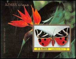 Ajman - 2645/ Bloc N° 492 Papillons (butterflies) ** MNH - Schmetterlinge