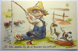 EH ! KIKI, DÉPÊCHE-TOI DE M'TROUVER DES ASTICOTS - GERMAINE BOURET - Bouret, Germaine