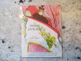 Programme Théâtre Antoine Couverture Toulouse Lautrec - Piece Les Mains Sales Sartre Publicité Cognac - Programmes