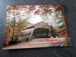 CP - ALBANY BRIDGE - ALBANY N. H. - Etats-Unis