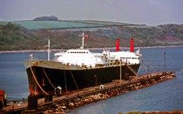 7X5 PHOTO OF SERENIA AT FALMOUTH - Boats