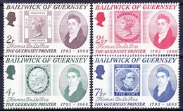 GUERNSEY 1971 YT N° 49 à 52 ** - Guernesey