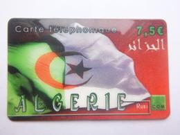 France - Télécarte Carte Prépayer Pour ALGERIE - 2005 - Utilisée - Prepaid-Telefonkarten: Andere