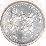 Portugal - 1000 Escudos (1000$00) 1997 Pauliteiros Dancers - Silver - UNC - Portugal