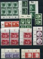 40487) DEUTSCHES REICH Einheiten - Lot Postfrisch Aus 1938-44, 755.- € - Deutschland