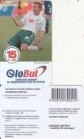 BULGARIA - Football, GloBul Prepaid Card 15 Leva(matt Surface), Sample - Bulgaria