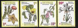 Botswana, Scott # 128-31 MNH Flowers, Christmas, 1974 - Botswana (1966-...)
