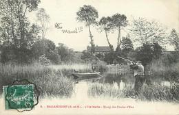 "/ CPA FRANCE 91 ""Ballancourt, L'ile Verte"" / CHASSE - Ballancourt Sur Essonne"