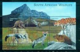 BOX-04 Lesotho 2001 Southern Africa Wildlife Sheet MNH - Stamps
