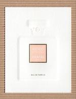 CC Carte Parfumée CHANEL 'COCO MADEMOISELLE' Perfume Card - Modernes (à Partir De 1961)