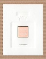 CC Carte Parfumée CHANEL 'COCO MADEMOISELLE' Perfume Card - Modern (from 1961)