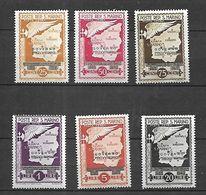 San Marino 1943  Poste Aérienne  Cat Yt N° Lot   N** MNH - Collezioni & Lotti