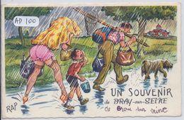 ILLUSTRATION- JEAN CHAPERON- RAP- UN SOUVENIR DE BRAY SUR SEINE - Chaperon, Jean