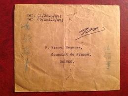 Franchise Viaud Esquire Consulat De France Canton - 1912-1949 Republiek