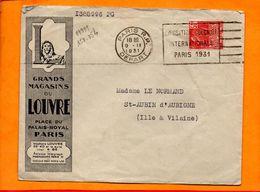 PARIS, Paris R.P., Flamme à Texte, Exposition Coloniale Paris 1931 - Oblitérations Mécaniques (flammes)