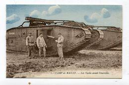 CPA  Militaria : Camp De Mailly  Un Tank    VOIR   DESCRIPTIF  §§§ - Matériel