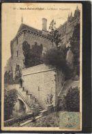 50131 . MONT SAINT MICHEL .LA MAISON DUGUESCLIN . (recto/verso)  ANNEE  190? - Le Mont Saint Michel