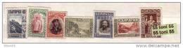 1915 King FERDINAND I , King ASEN Castle , ISKAR RAILWAY , BRIDGE  7v.-MNH BULGARIA / Bulgarie - 1909-45 Royaume