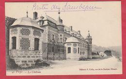 Freyr - Le Château ...  Comte De Laubespin ( Voir Verso ) - Hastière