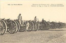 Haute-Marne - Manoeuvres De Forteresse 1905 - Siège De Langres - Camp De Villiers-sur-Suize 65 - Manoeuvres