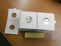 4 X 25 CARTONS A AGRAFER 20 Mm. 4 X 25 MUNTHOUDERS TE NIETEN,  HARTBERGER. - Supplies And Equipment