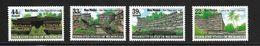 MICRONESIE 1985 RUINES DE NAN MADOL  YVERT N°33-A13/15  NEUF MNH** - Micronésie