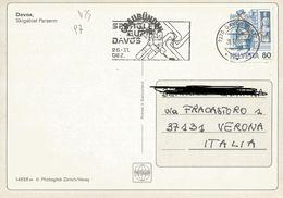 TIMBRO SU CARTOLINA: SPENGLER CUP DAVOS 26-31 DEZ 1988  (97) - Svizzera