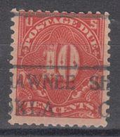 USA Precancel Vorausentwertung Preo, Locals Oklahoma, Shawnee J65-494 - United States