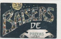 07 // BAISERS De PRIVAS / LUNE / Petits Boutons Brillants - Privas