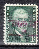 USA Precancel Vorausentwertung Preo, Locals Oklahoma, Stratford 841 - Vereinigte Staaten