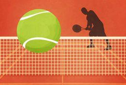 [ T26-028   ]   Tennis Ball Pelota De Tenis   , China Pre-stamped Card, Postal Stationery - Tennis