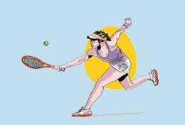 [ T26-030   ]   Tennis Ball Pelota De Tenis   , China Pre-stamped Card, Postal Stationery - Tennis