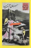 CPA ANGE Enfants 1908 - Angels