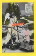 CPA ANGE Enfants 1906 - Anges