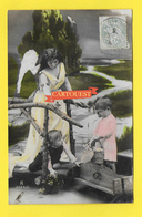 CPA ANGE Enfants 1906 - Angels