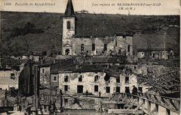 BATAILLE DE SAINT MIHIEL -54- LES RUINES DE REMBERCOURT SUR MAD - Sonstige Gemeinden