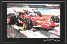 [MD1293] CPM - JACKY ICKS ALLA GUIDA DELLA FERRARI 312B - NV - Grand Prix / F1