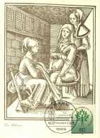 5198  Gynécologie, Accoucheur: Carte Maximum 1er Jour D'Allemagne (Berlin) 1985 - Gynecology, Midwife. - Medicina