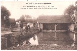 CPA - Champbardin De Saint-Barthèlemy - Fontaine Et Lavoir - Other Municipalities