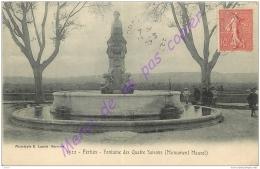 84. PERTUIS . Fontaine Des Quatre Saisons . Monument Muarel . - Pertuis