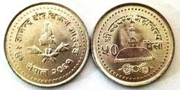 Nepal - 50 Paisa 2004 UNC Bank Bag - Nepal