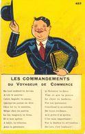 Les Commandements Du Voyageur De Commerce - - Humor