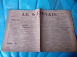 Le Gatinais  Etampes  Journal De Guerre  14.18 Du 16.11.1918 - 1914-18