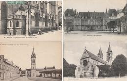 18 / 3 / 463  -    LOT  DE  13  CPA  &  3  CPSM  DE  MELUN  (  77 )  Toutes Scanées - Cartes Postales