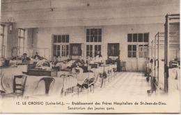 LE CROISIC  ETABLISSEMENT DES FRERES HOSPITALIERS DE ST JEAN DE DIEU  SANATORIUM DES JEUNES GENS - Le Croisic