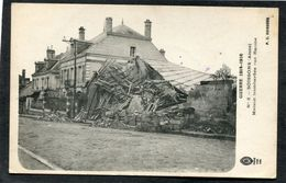 CPA - GUERRE DE 1914-1916 - SOISSONS - Maison Bombardée Rue Racine - Guerre 1914-18