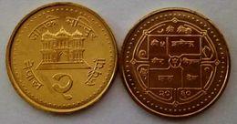 Nepal - 2 Rupee 2003 UNC Bank Bag - Nepal