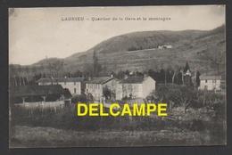 DF / 01 AIN / LAGNIEU / QUARTIER DE LA GARE ET LA MONTAGNE / CIRCULÉE EN 1918 - Andere Gemeenten